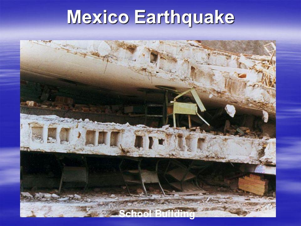 Mexico Earthquake School Building