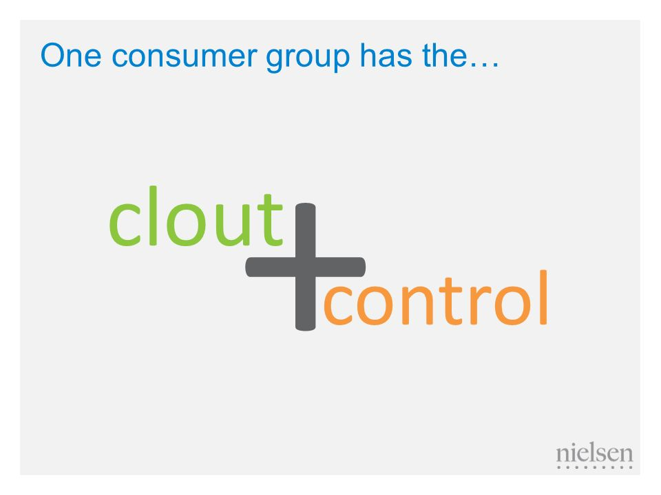 One consumer group has the…