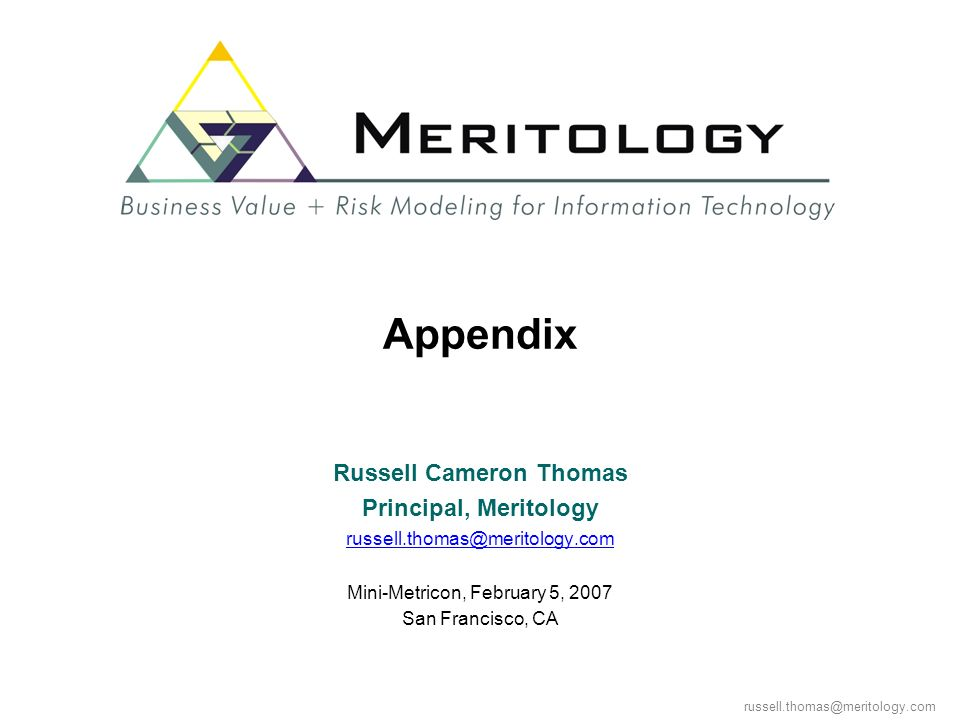 Russell Cameron Thomas