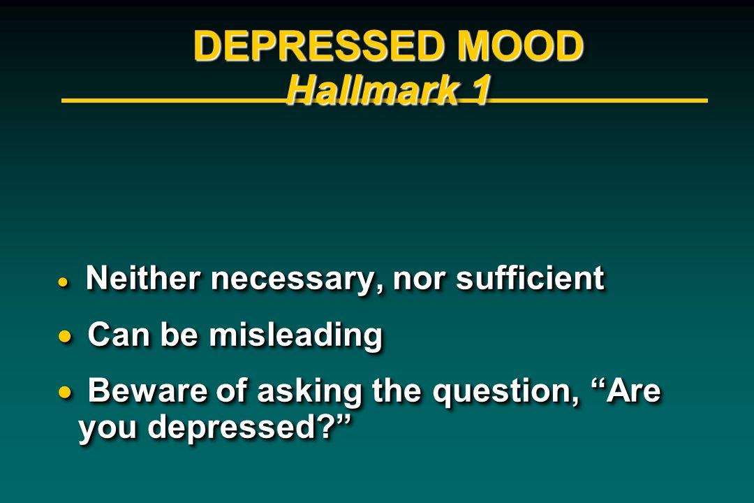 DEPRESSED MOOD Hallmark 1