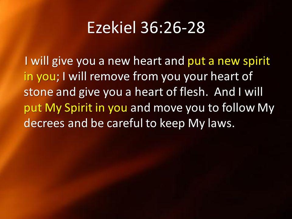 Ezekiel 36:26-28