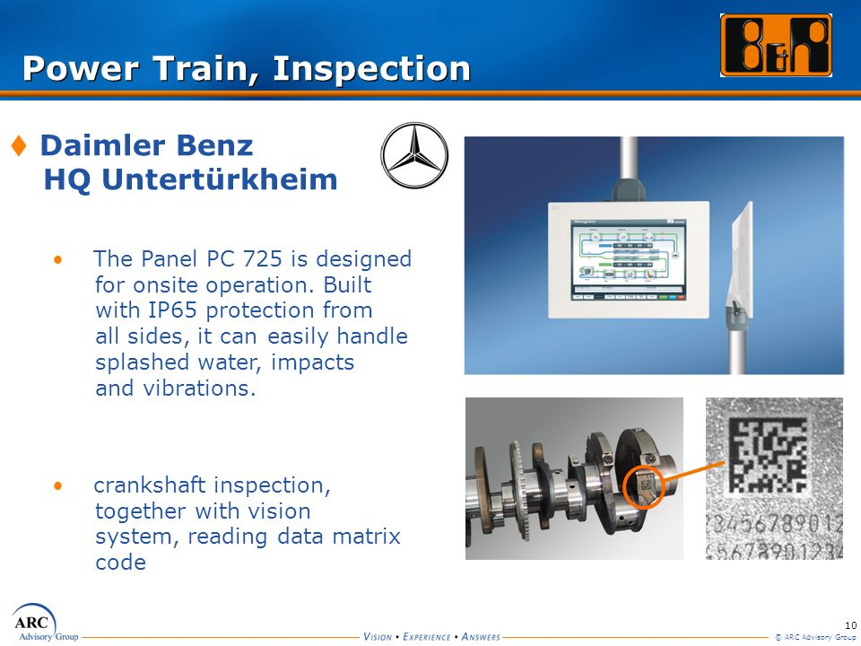 Power Train, Inspection