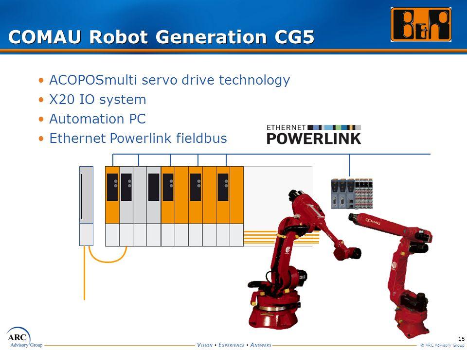 COMAU Robot Generation CG5