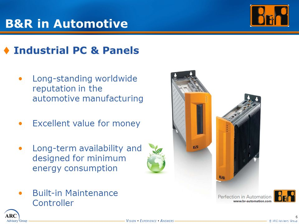 B&R in Automotive Industrial PC & Panels