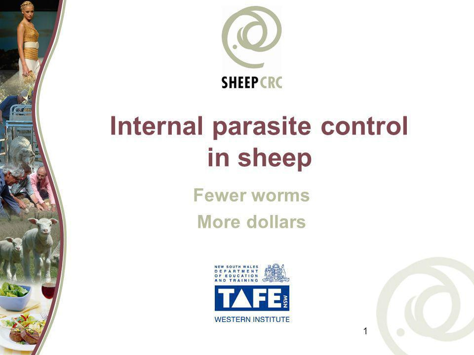Internal parasite control in sheep