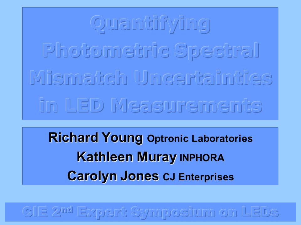 Quantifying Photometric Spectral Mismatch Uncertainties in LED Measurements