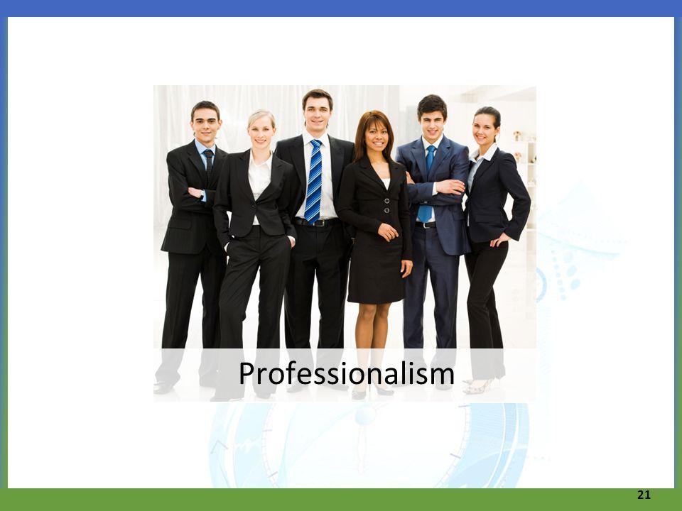 Professionalism 21