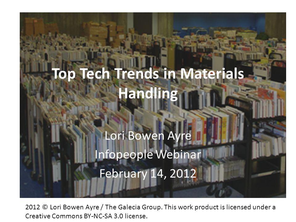 Top Tech Trends in Materials Handling