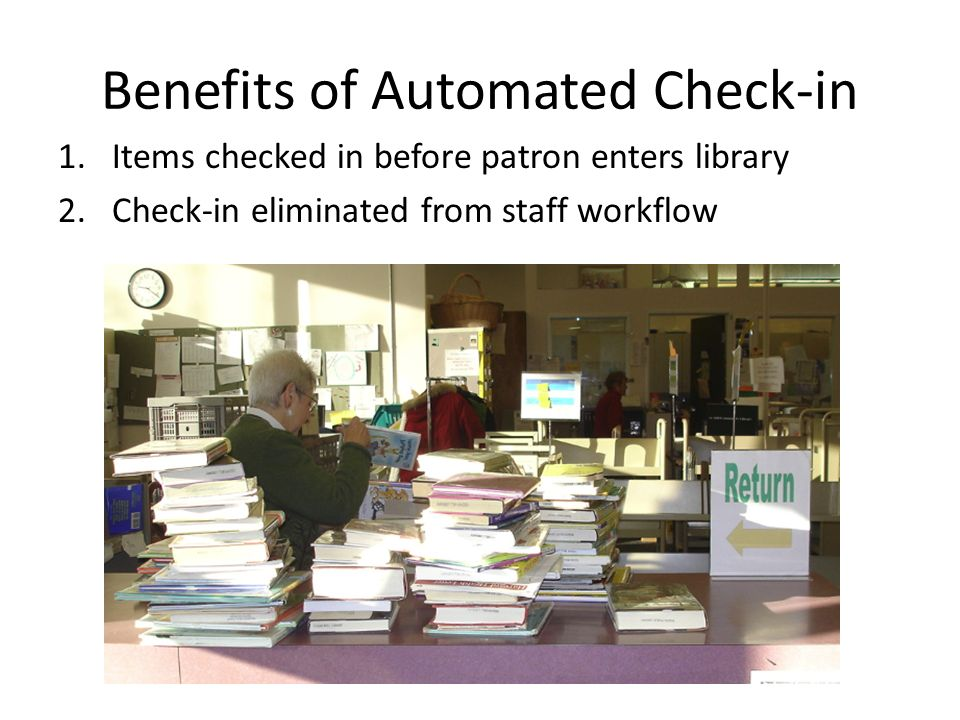 Benefits of Automated Check-in