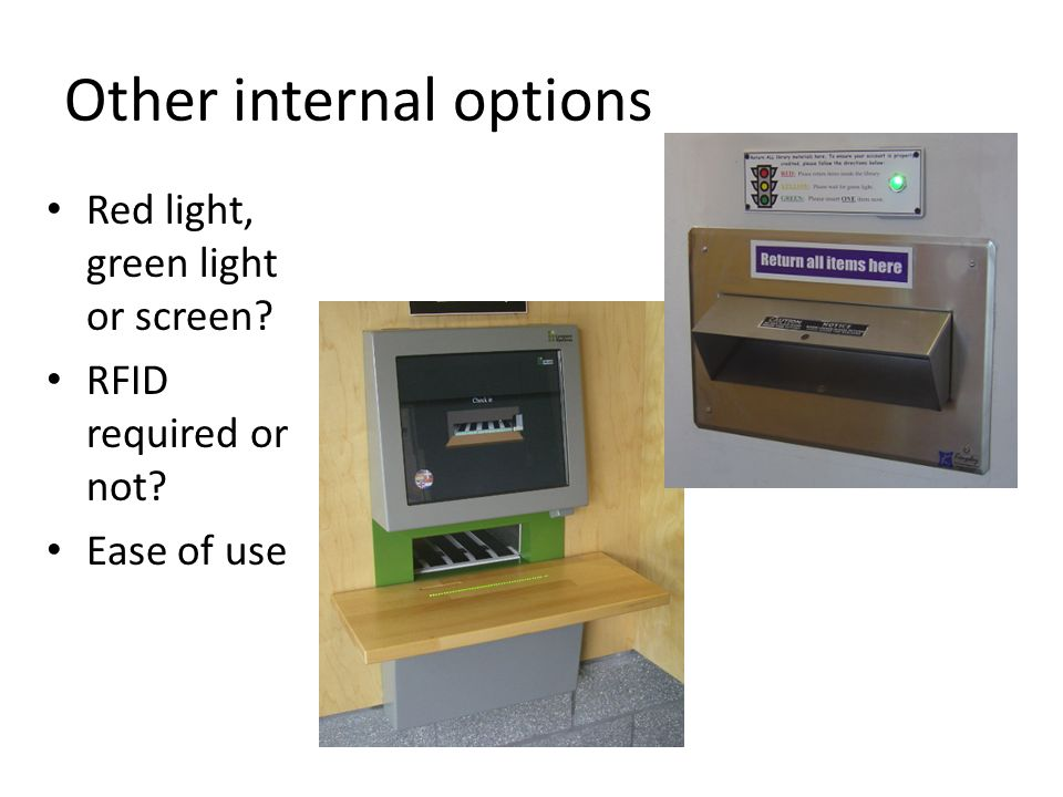 Other internal options