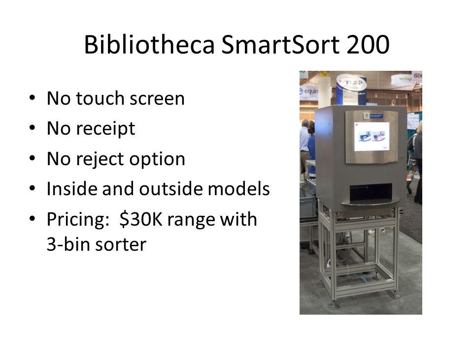 Bibliotheca SmartSort 200