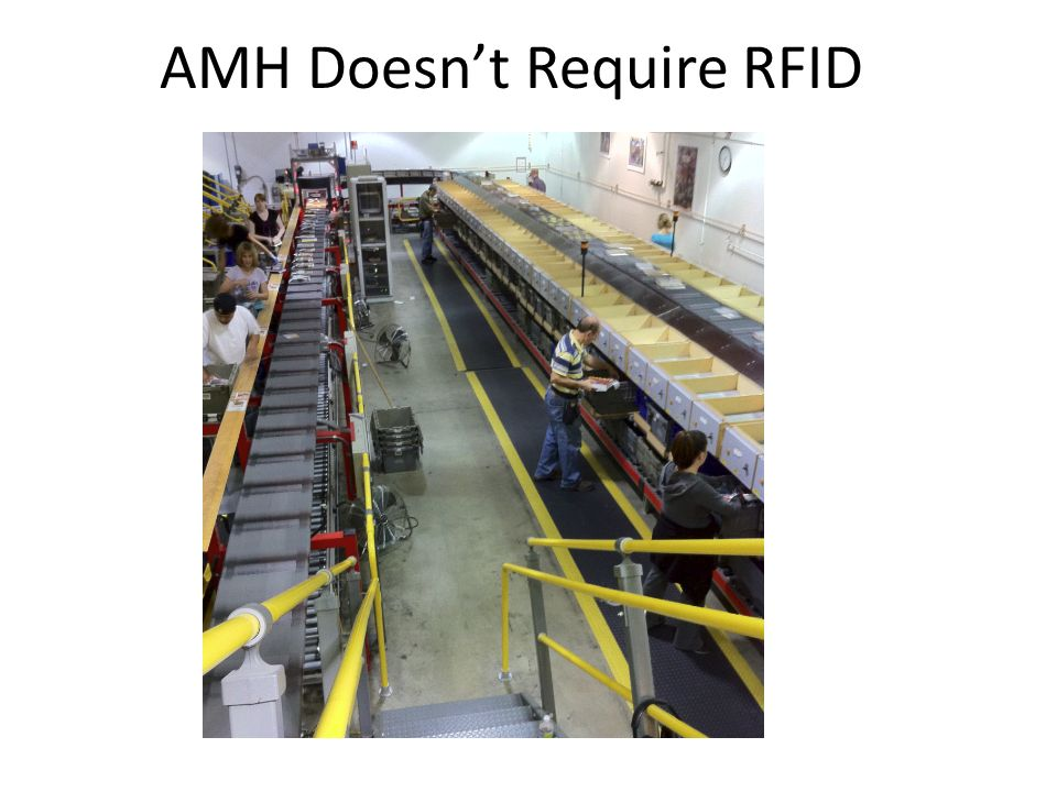 AMH Doesn't Require RFID