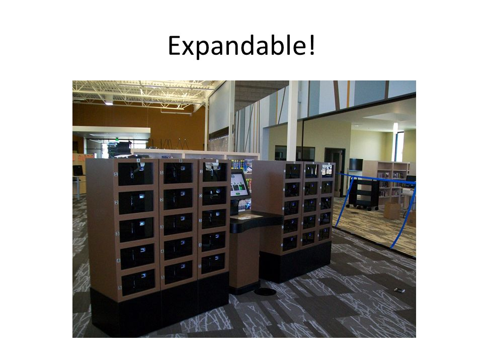 Expandable! Kiosk + one tower $13,500 Each tower another $5,000
