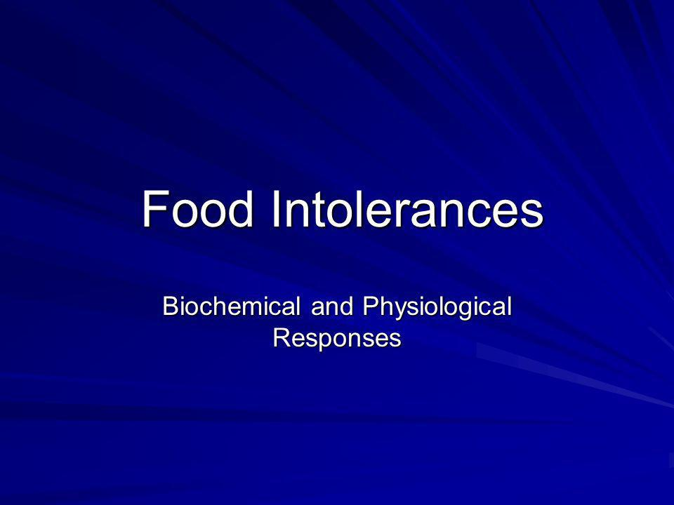 Biochemical and Physiological Responses