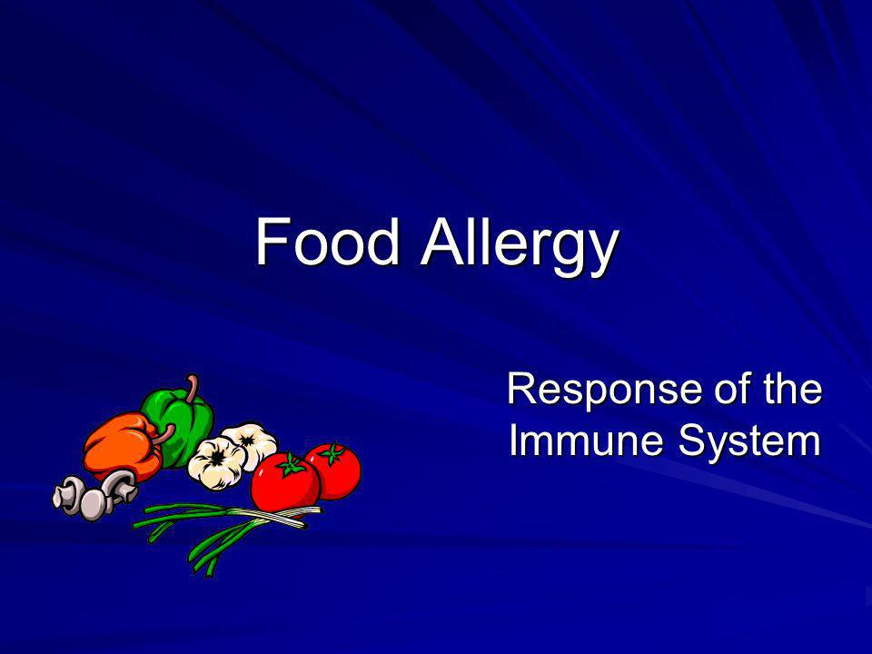 Response of the Immune System