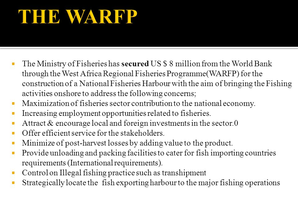 THE WARFP