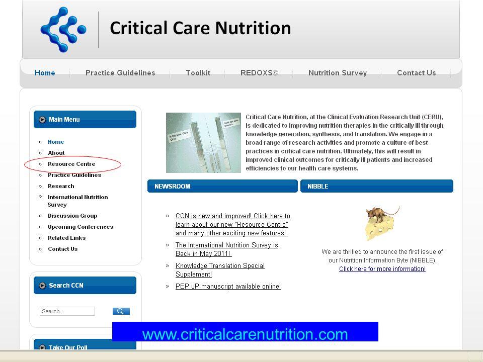 www.criticalcarenutrition.com