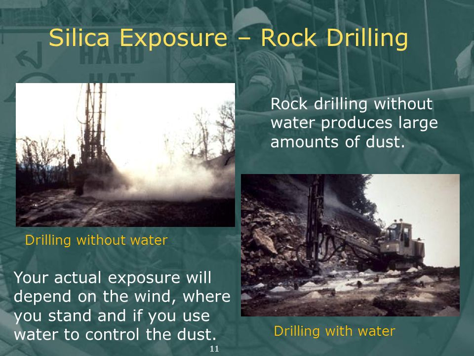 Silica Exposure – Rock Drilling