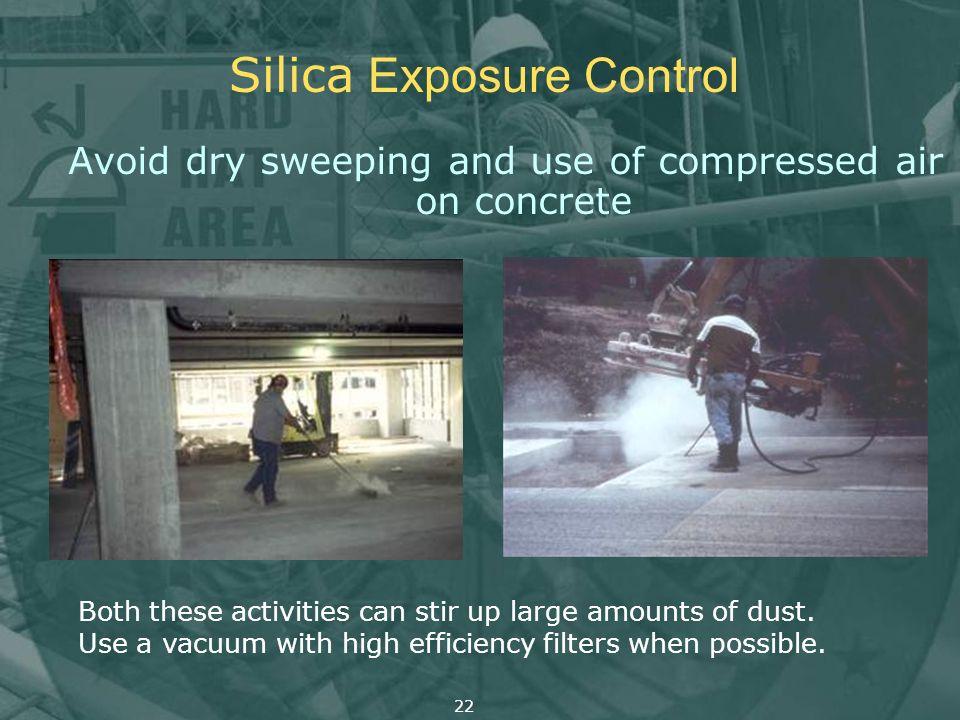 Silica Exposure Control