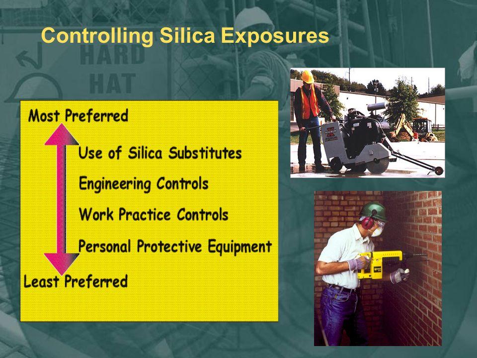 Controlling Silica Exposures