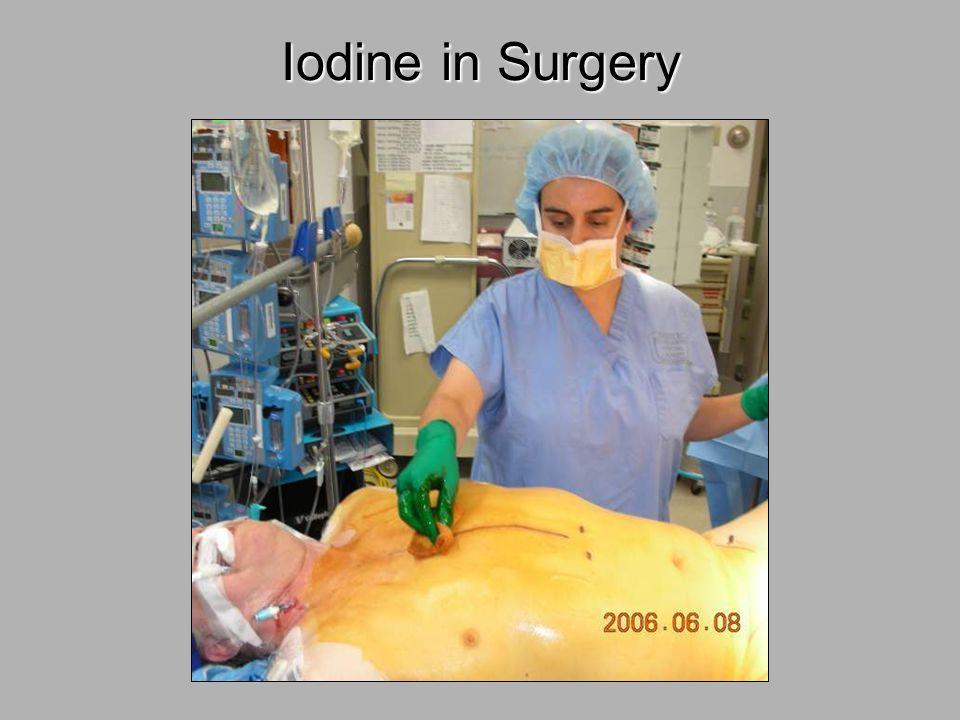 Iodine in Surgery 28