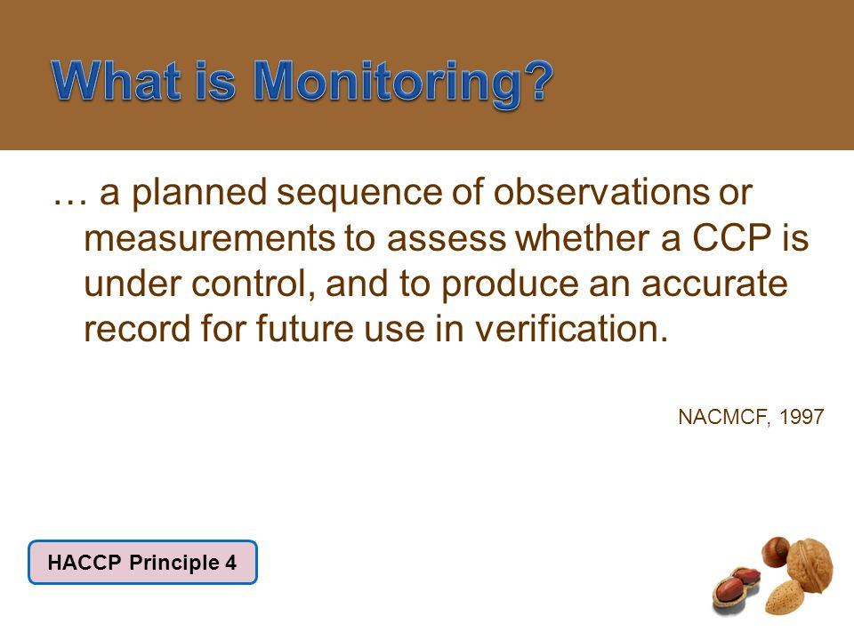 What is Monitoring