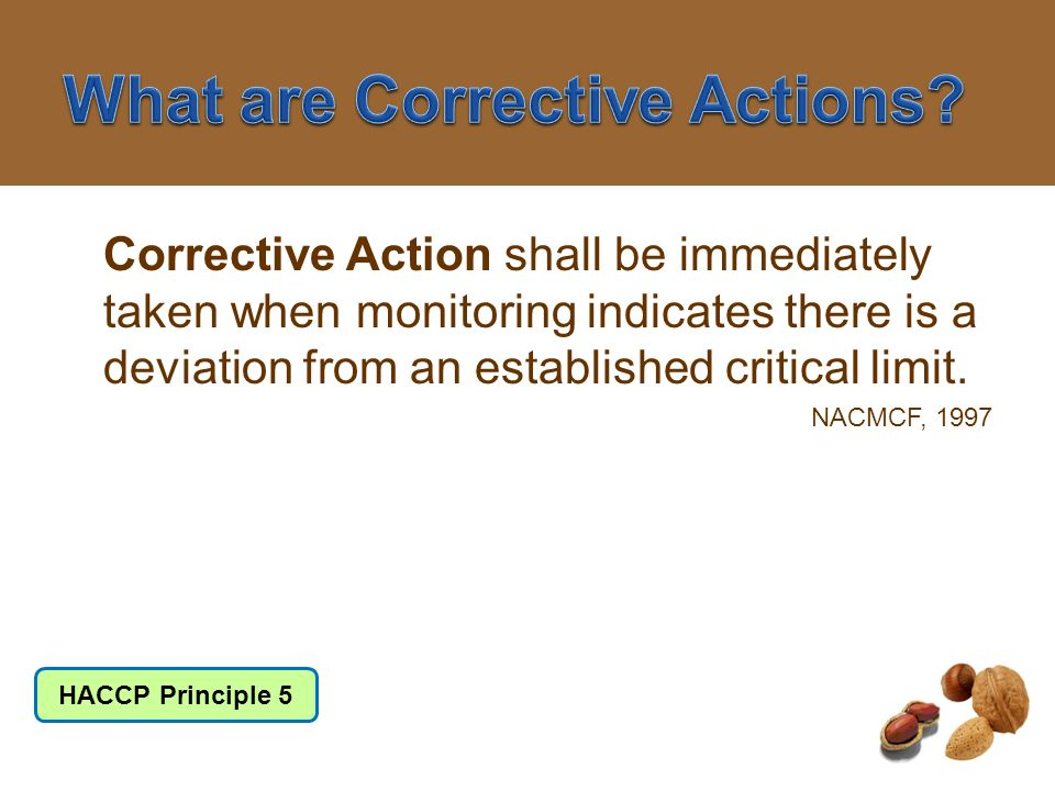 What are Corrective Actions