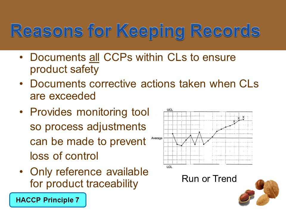 Reasons for Keeping Records