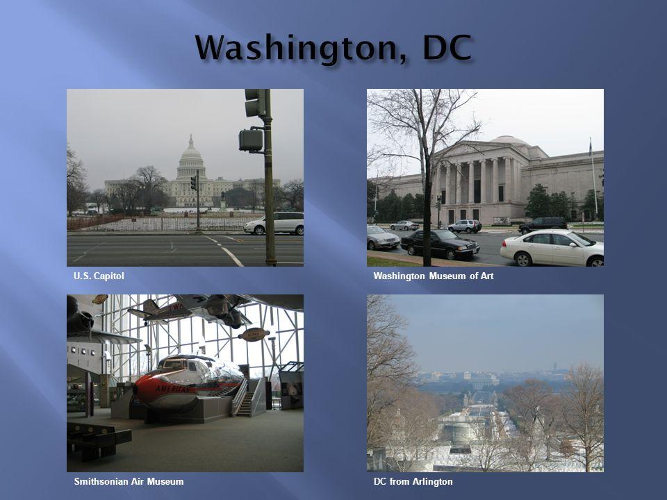 Washington, DC U.S. Capitol Washington Museum of Art