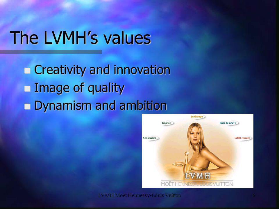 LVMH Moët Hennessy-Louis Vuitton