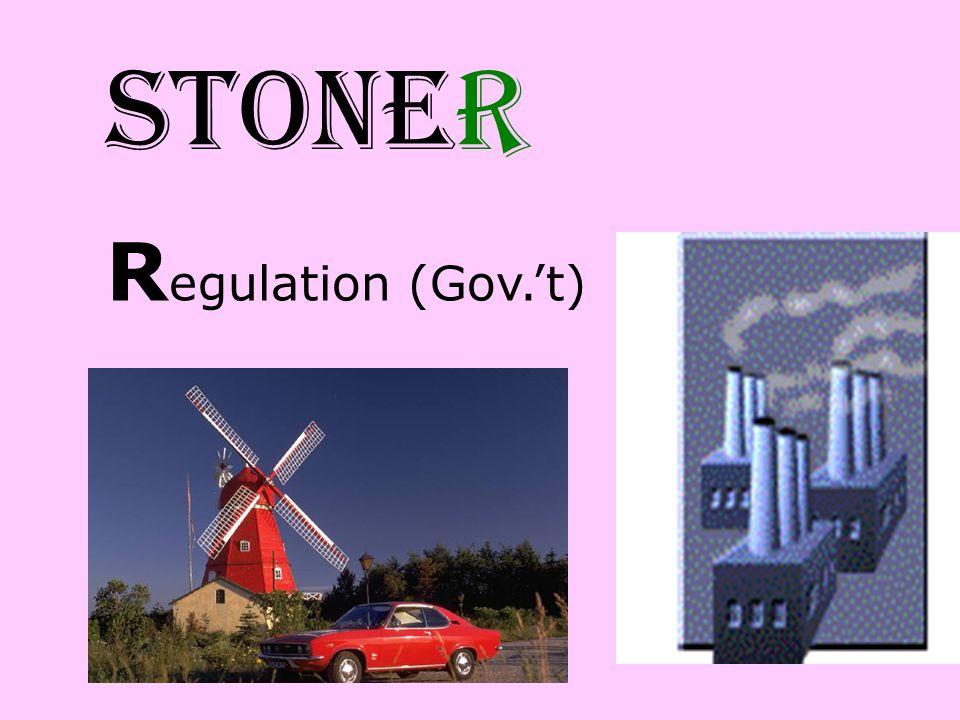 STONER Regulation (Gov.'t)