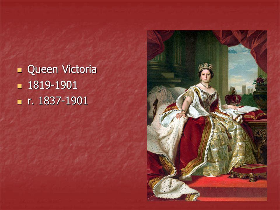 Queen Victoria 1819-1901 r. 1837-1901