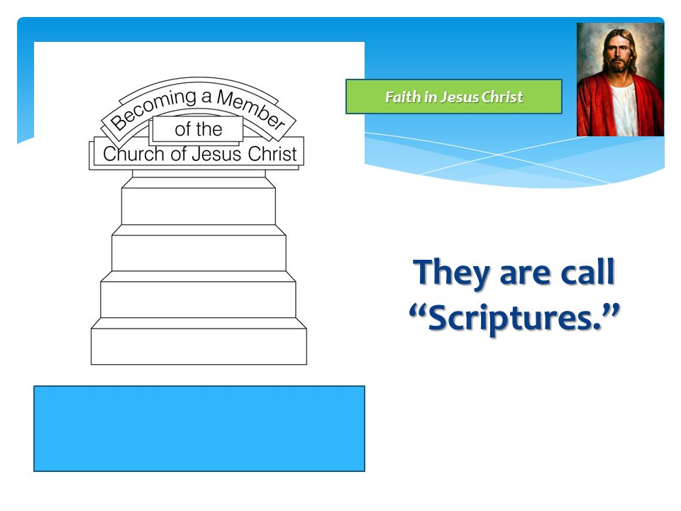 They are call Scriptures.