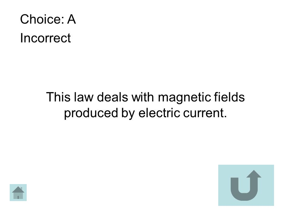 This law deals with magnetic fields produced by electric current.