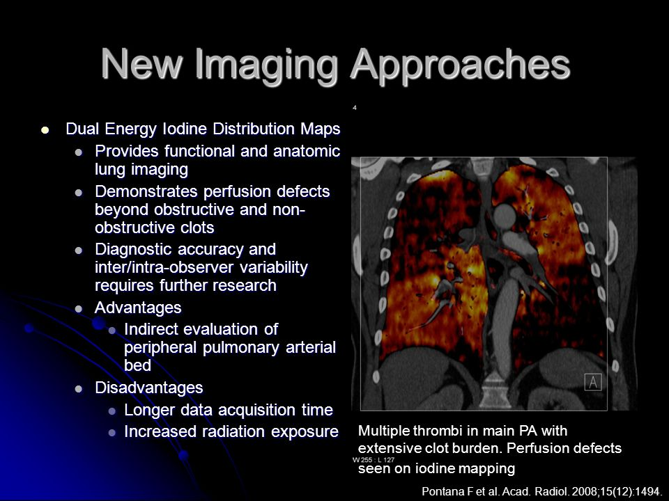 New Imaging Approaches
