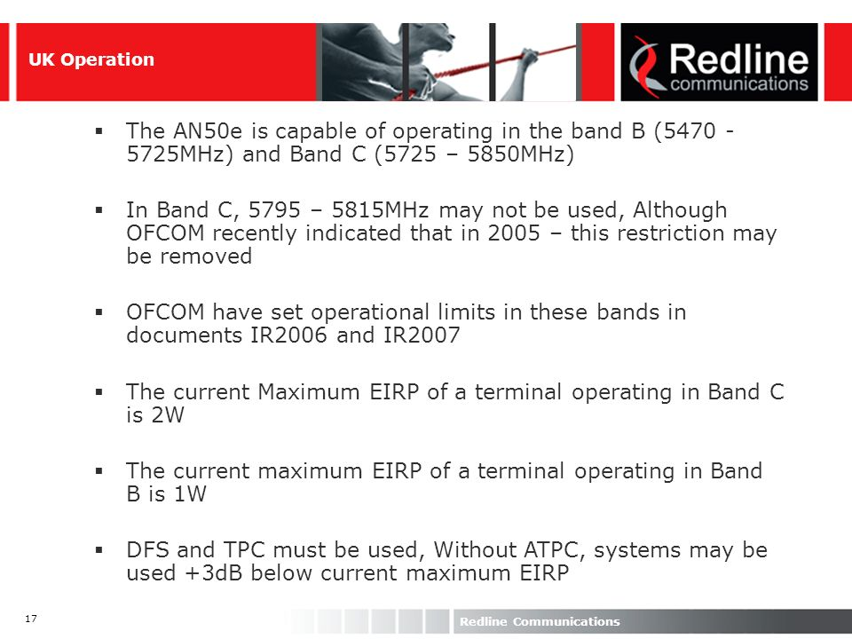The current Maximum EIRP of a terminal operating in Band C is 2W