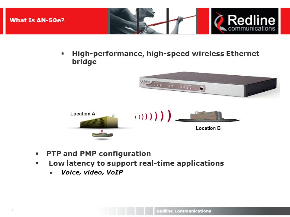 High-performance, high-speed wireless Ethernet bridge
