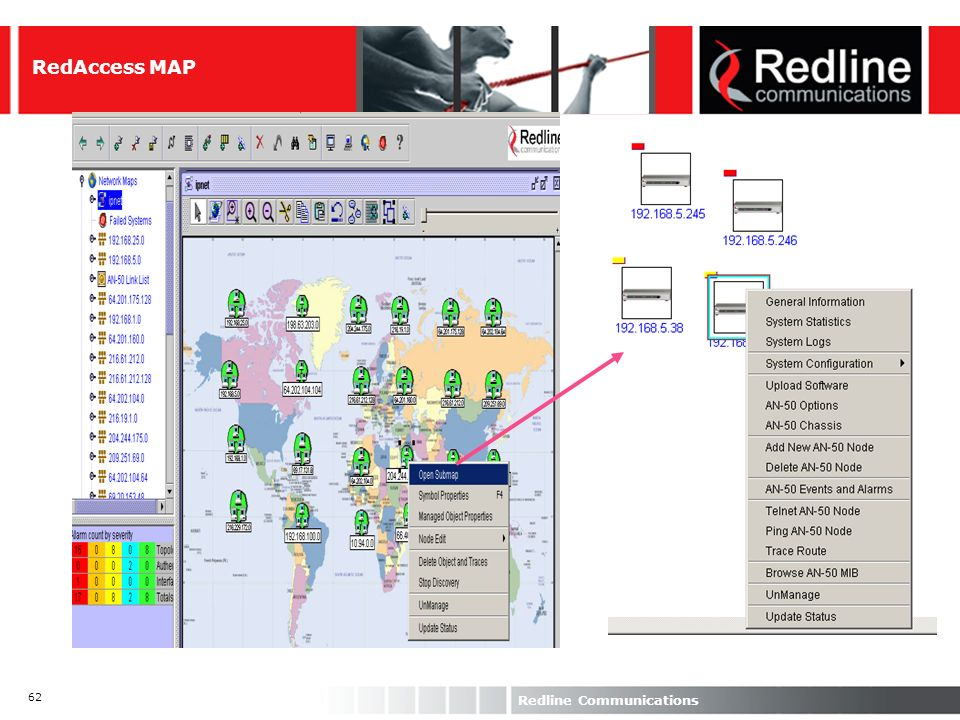 RedAccess MAP Redline Communications