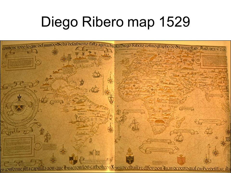 Diego Ribero map 1529