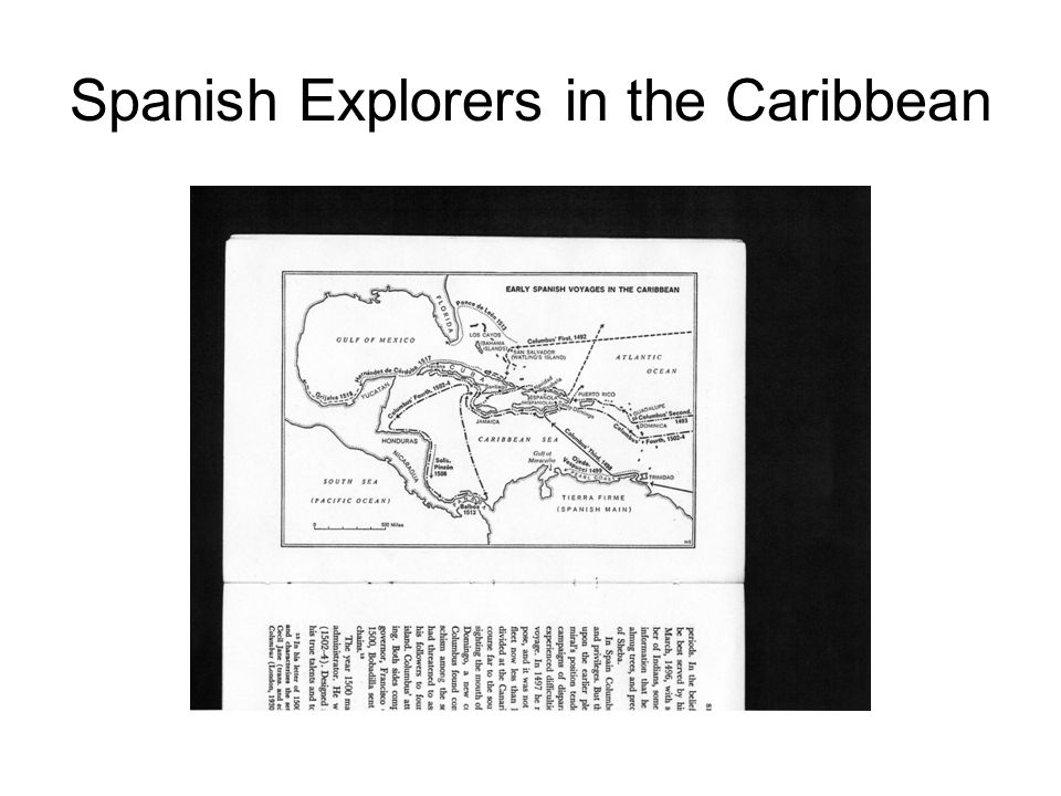 Spanish Explorers in the Caribbean