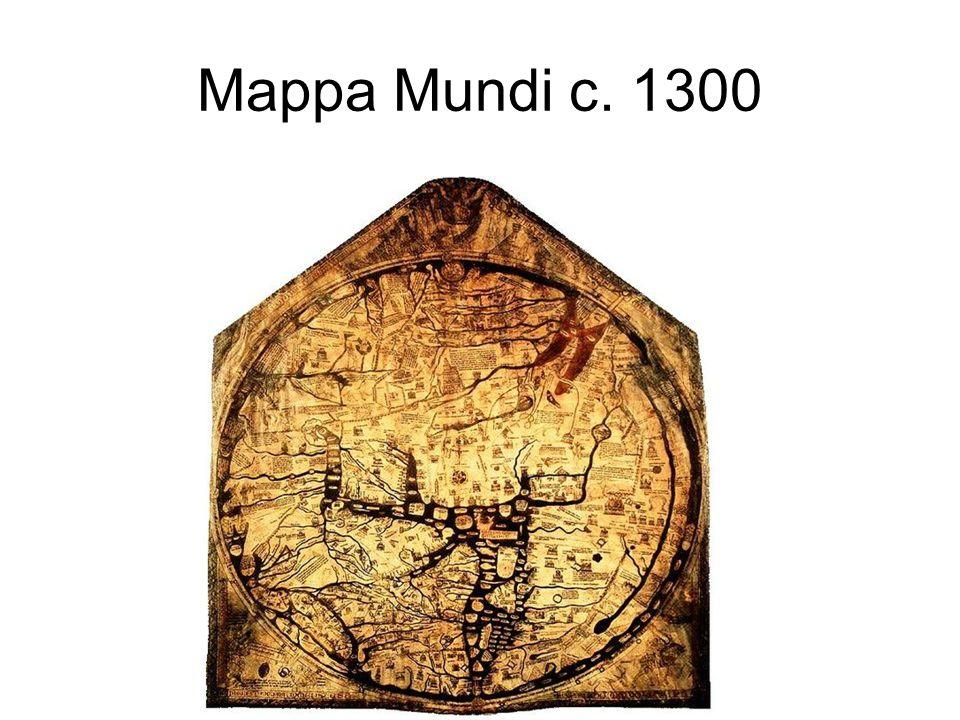 Mappa Mundi c. 1300