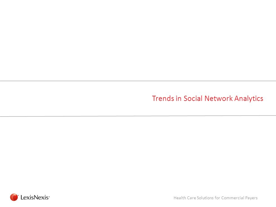 Trends in Social Network Analytics