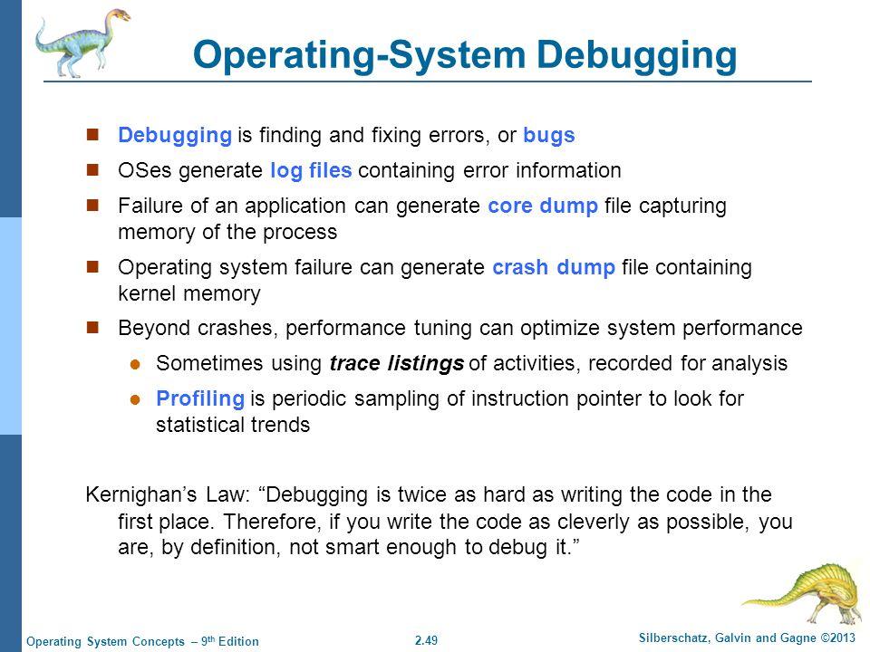 Operating-System Debugging