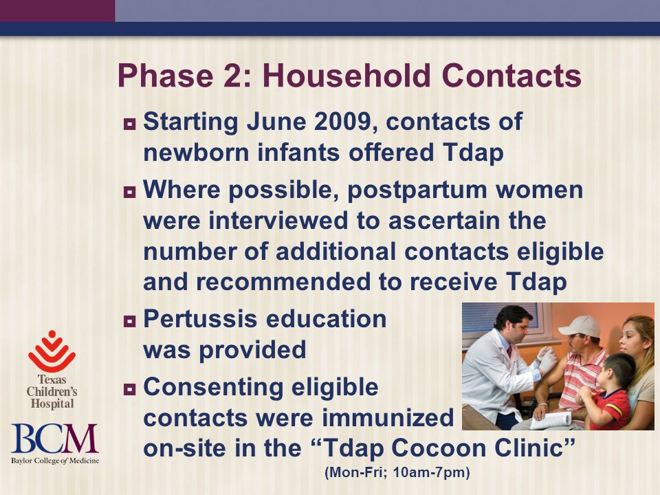 Phase 2: Household Contacts