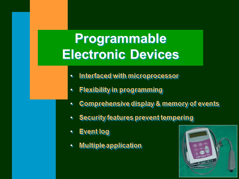 Programmable Electronic Devices