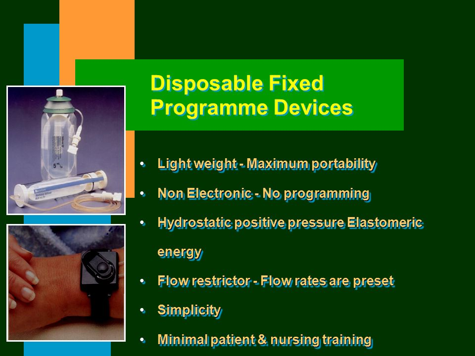 Disposable Fixed Programme Devices