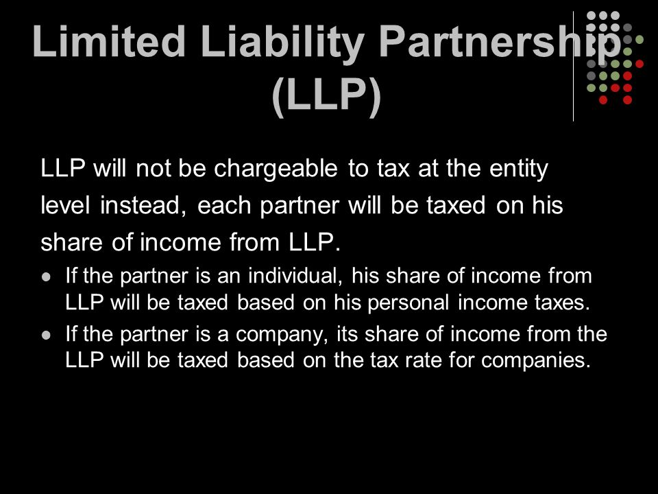 Limited Liability Partnership (LLP)