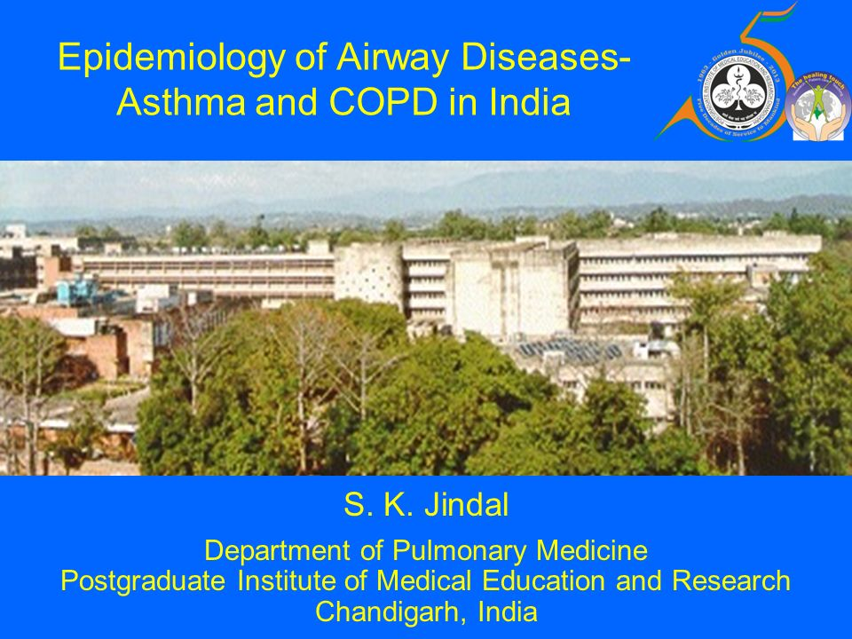 Epidemiology of Airway Diseases-Asthma and COPD in India