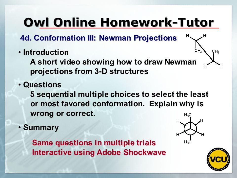 Owl Online Homework-Tutor