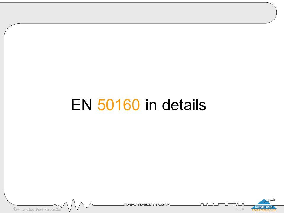 EN 50160 in details